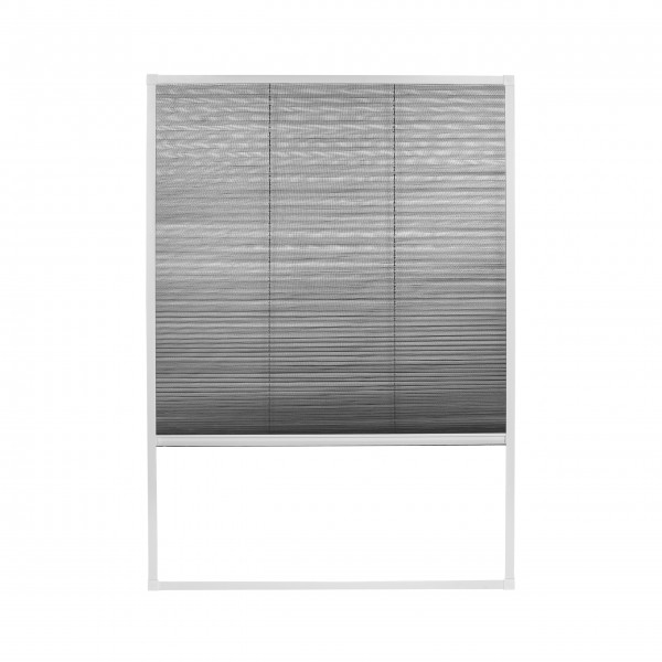 Moustiquaire Plissée pour fenêtre de toit compatible avec Velux