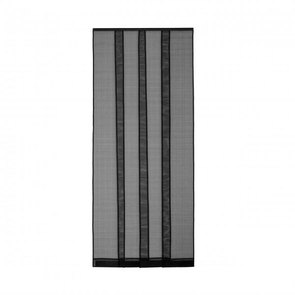 Moustiquaire 4 lamelles avec Clips pour Porte - Fibre de verre L100 x H220 cm